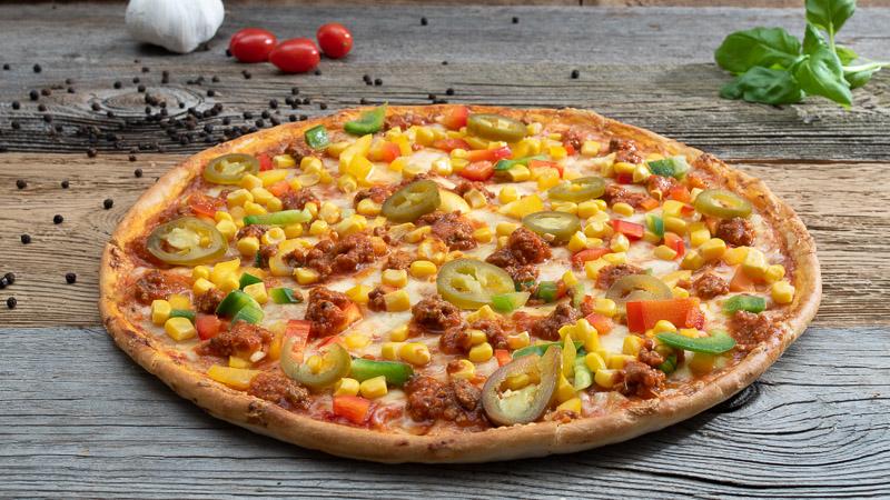 Pizza Mexicana   Ladispoli München